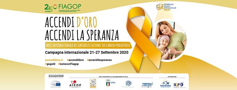Settembre è il mese dell'Oncologia Pediatrica: Accendi la speranza