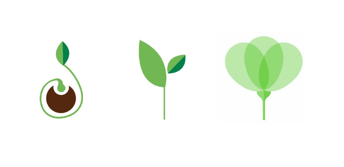 tre simboli crescita